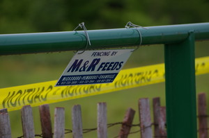 Fencing Sponsored by M&R Feeds